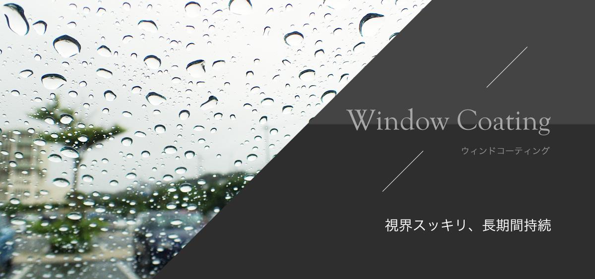 Windowcoating ウィンドウコーティング 視界スッキリ、長期間持続